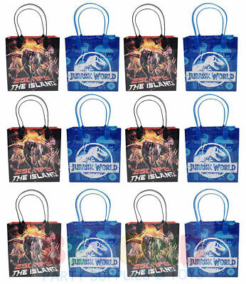 Jurassic World Gift Bags Party Favor Treat Goody Candy Loot Birthday Bags