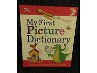 Chad Valley My First Picture Dictionary Hardcover Book
