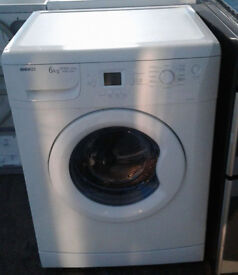 b176 white beko 6kg 1600spin A+AA washing machine comes with warranty can be delivered or collected