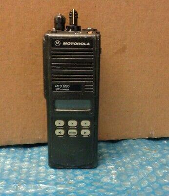 Motorola Mts2000 Model Ii Portable 2 Way Radio Smartnet Model H01ucf6pw1bn