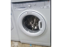 l221 white hotpoint 7kg 1200spin wshing machine comes with warranty can be delivered or collected