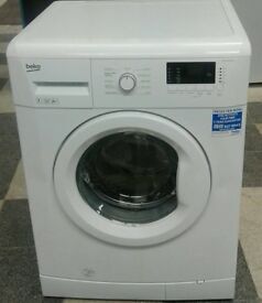 *369 white beko 7kg 1300 spin washing machine comes with warranty can be delivered or collected