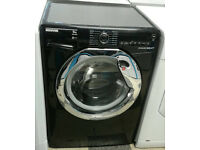 a717 black hoover 9kg 1500spin A+++ rated washing machine comes with warranty can be delivered