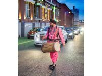 dhol players, brass band bajas dancers in bradford covering all occasions corporate events asian djs