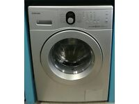 636 silver samsung 5kg washing machine comes with warranty can be delivered or collected