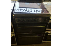 h122 black cannon double oven ceramic electric cooker comes with warranty can be delivered