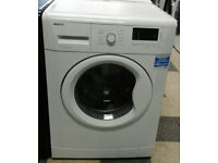 i795 white beko 7kg 1500spin A++ washing machine comes with warranty can be delivered or collected