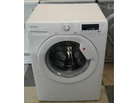 N016 white hoover 7kg 1600spin A+ rated washing machine comes with warranty can be delivered