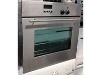 p205 stainless steel neff single electric oven comes with warranty can be delivered or collected
