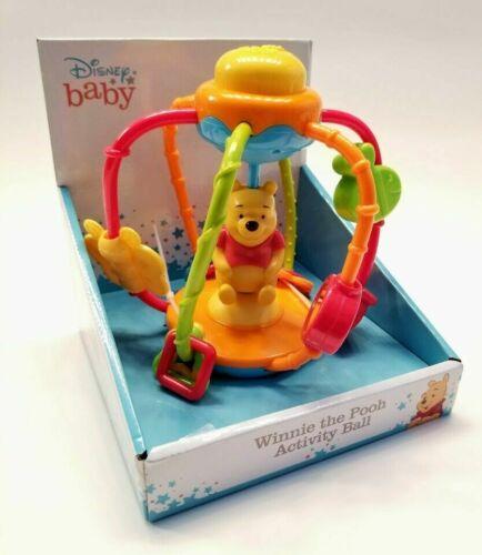 Winnie the Pooh Activity Ball Developmental Toy Disney Baby 6 Months +