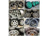 WE BUY YOUR ALLOY WHEELS / CUT OUT THE TIME WASTERS / SAME DAY CASH ON COLLECTION OR DROP OFF!