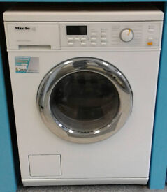 I713 white miele 5kg 1600spin washer dryer comes with warranty can be delivered or collected