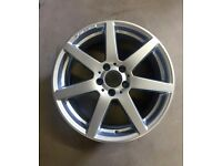 """One Genuine Mercedes 18"""" Alloy Wheel for sale - £150"""