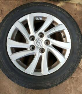 Mazda 3 Max Sport Alloy Wheels & Tyres******2012 Moorebank Liverpool Area Preview