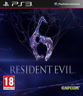 Resident Evil 6 PS3 playstation 3 jeux jeu game games lot spellen spelletjes 718