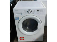 a465 white daewoo 9kg&7kg 1400spin washer dryer comes with warranty can be delivered or collected