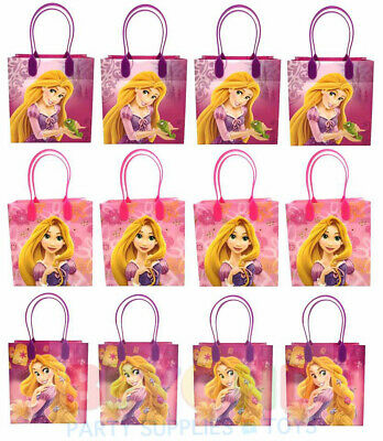 Tangled Rapunzel Gift Bags Party Favor Treat Goody Candy Loot Birthday Bags - Rapunzel Favors