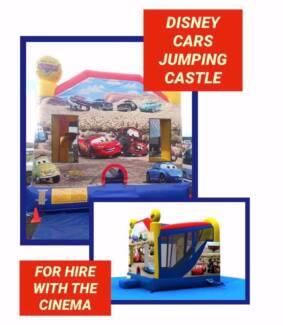 Cars lightning McQueen Jumping Castle Hire