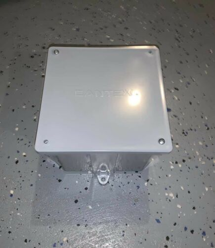 Junction Box 6 X 6 X 4  - $9.00