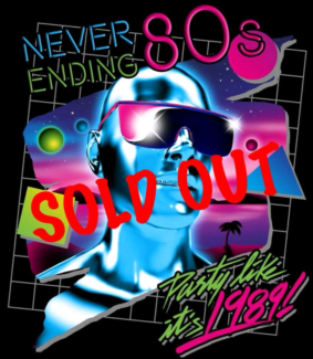 Never Ending 80's tickets  9th Feb