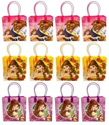 Beauty And The Beast Birthday Supplies (Disney Beauty and the Beast Birthday Goody Gift Loot Favor Bags Party)