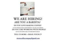 BARISTA FOR ROASTERY