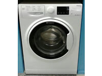 i796 white hotpoint 9kg 1400spin A+++ washing machine comes with warranty can be delivered