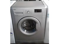 c307 silver beko 6kg 1400spin A+ washing machine comes with warranty can be delivered or collected