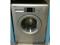 i269 silver beko 7kg 1400spin A** rated washing machine come with warranty can be delivered