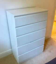 BRAND NEW NEVER USED CHEST OF DRAWERS