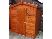 6ft x 6ft Garden Shed