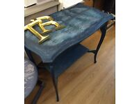 Stunning Hand Painted Parlour Table