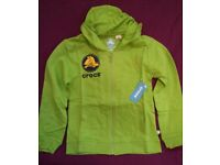 Boys/Girls Size 6 Years Crocs Hoodie, it is New With Tags