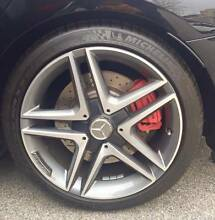 4 x 18 inch Mercedes AMG rims and tyres. Subiaco Subiaco Area Preview