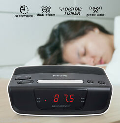 Philips NEW Dual Voltage Alarm Clock Radio for Worldwide Use 110/220v 220 Volt