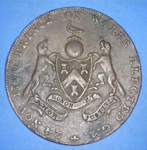 MASONIC 1794 PRINCE OF WALES ELECTED GRAND MASTER OF FREEMASONS - *03291805