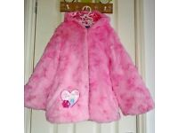 Weekend Price!!! Pink Fluffy Frozen Coat