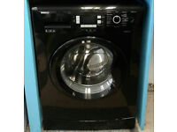 b067 black beko 8kg 1200spin A* rated washing machine comes with warranty can be delivered