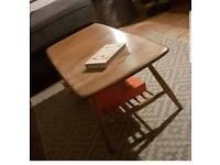 ERCOL WINDSOR RETRO ORIGINAL COFFEE TABLE BLONDE