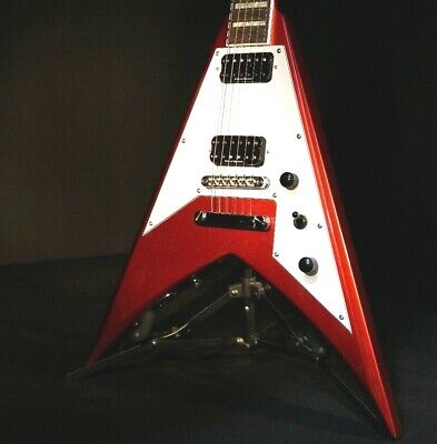 Jackson Signature Scott Ian King V KVXT Candy Apple Red Guitar, used for sale  Shipping to Canada