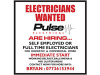 FQ Electricians Required - NI Work only