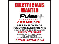 Electricians Wanted - Northern Ireland Work - Immediate Start