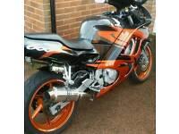 Honda cbr600f may swap