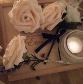 Chezabelles Buttonholes & Bouquets, beautiful handmade buttonholes, bouquets and flower girl wands