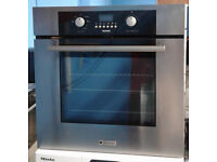 c421 stainless hotpoint single integrated electric oven comes with warranty can be delivered