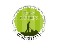 Gardening, Garden Maintenance & Soft Landscaping. Private, Small Commercial, Landlords.