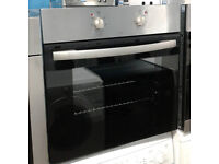 E709 stainless steel single electric oven comes with warranty can be delivered or collected