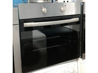 o709 stainless steel single electric oven comes with warranty can be delivered or collected