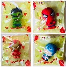 Squishy super hero's