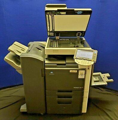 Konica Minolta Bizhub C360 Printer With Finisher